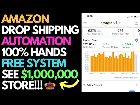 Amazon DropShipping Automation Webinar   See What A $1,000,000 Store Look Like!
