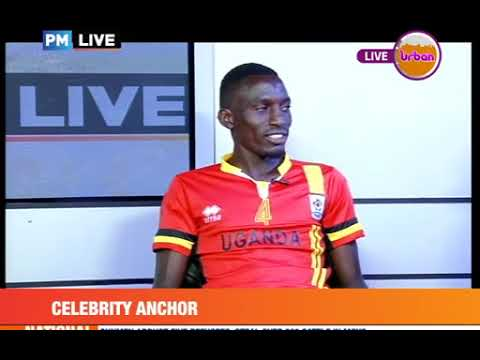 #PMLive #CelebrityEdition: Uganda Cranes Captain Bernard Muwanga Reads News on Urban TV[3/3]