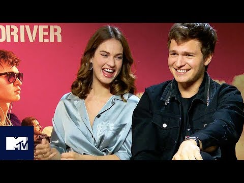 Ansel Elgort & Baby Driver Cast Reveal Funniest Moments BEHIND THE SCENES | MTV Movies
