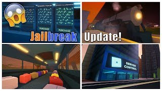 ⭐️Roblox Jailbreak New Train And Server Control Update!! 🔴[Live]#253