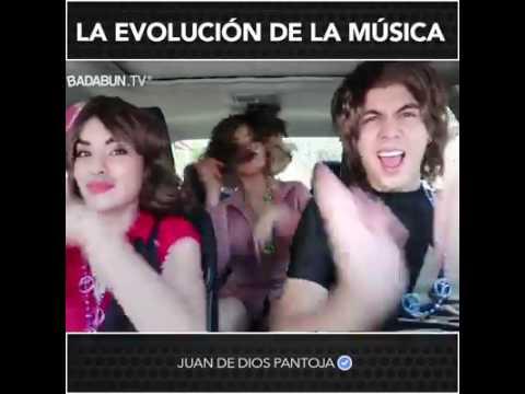 """La evolucion de """"la musica juan de dios pantoja"""
