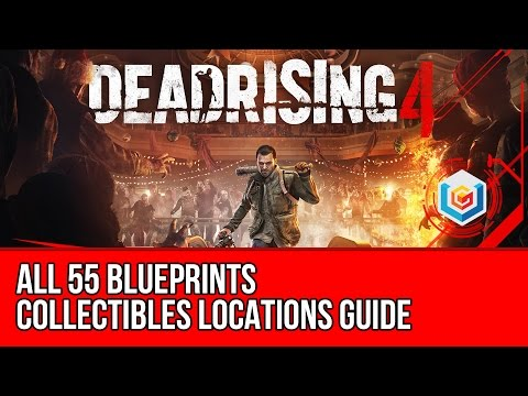 Dead Rising 4 - All Blueprints Collectibles Locations Guide (Innovator Achievement / Trophy)