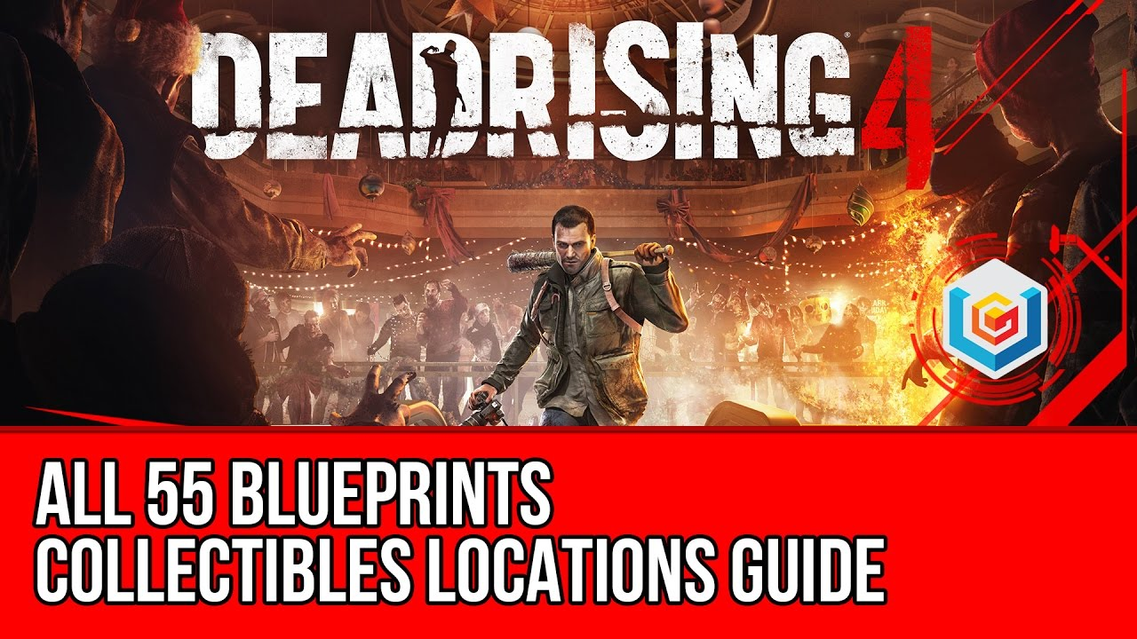 Dead rising 4 all blueprints collectibles locations guide dead rising 4 all blueprints collectibles locations guide innovator achievement trophy youtube malvernweather Gallery