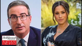 John Oliver Says He Didn't Find the Meghan Markle, Prince Harry Interview