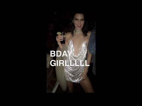 Kendall Jenner 21st Birthday Party (Full Snapchat Video) 2016