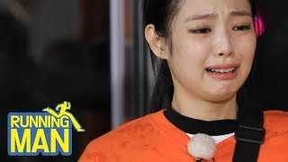 Poor Jennie from BLACKPINK...Why is She Crying?! [Running Man Ep 409]