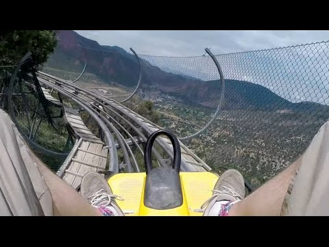 Alpine Coaster - Glenwood Caverns Adventure Park