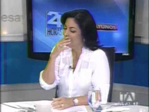 María Josefa Coronel, el desayuno del Presidente