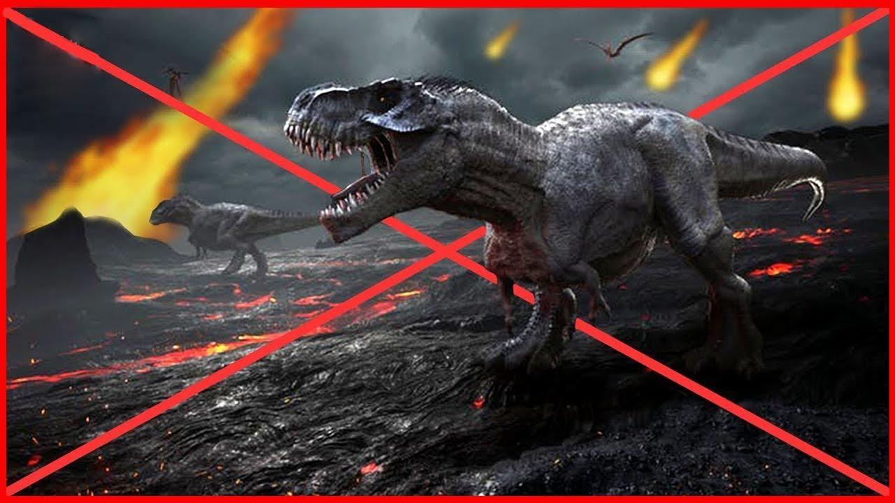 السبب الحقيقي لانقراض الديناصورات !