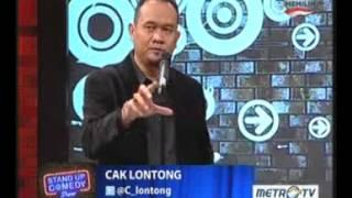 Stand Up Comedy- Cak Lontong dan Arswendo Edisi Rabu 17 April 2013