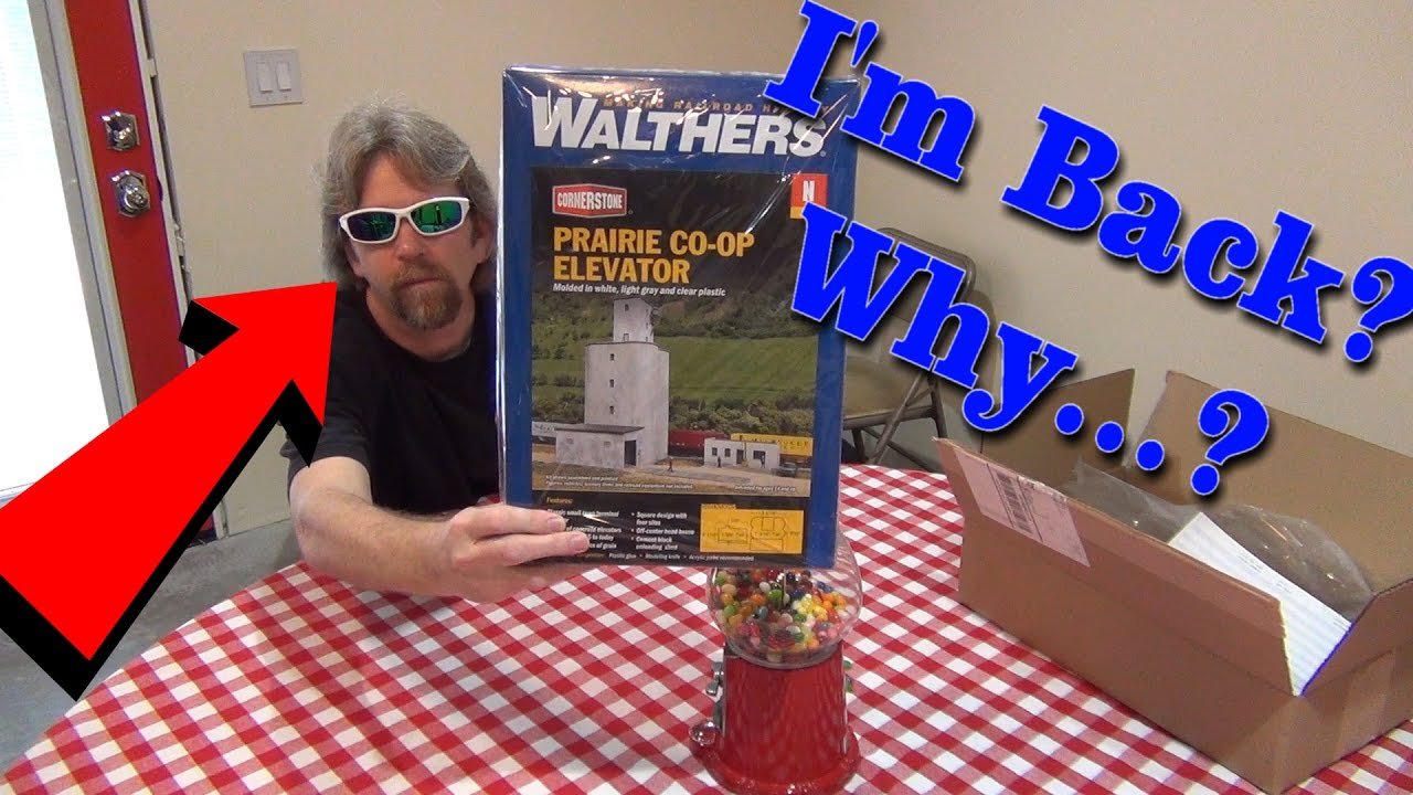 What is in the box? Walthers Cornerstone Prairie Co-Op Elevator model train  building kit - 396