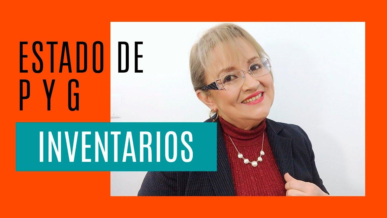 110 Estado De Pyg Inventario Permanente Y Periódico Elsamaracontable