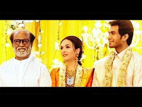 Soundarya Rajinikanth Wedding Reception | Vishagan Vanangamudi | Marriage Video