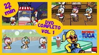 PATINHO TUGA Dvd Infantil Completo