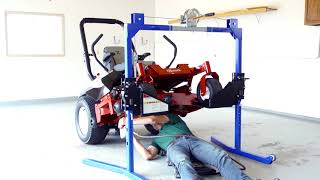 Top Notch Mower Lift: Operation & Features