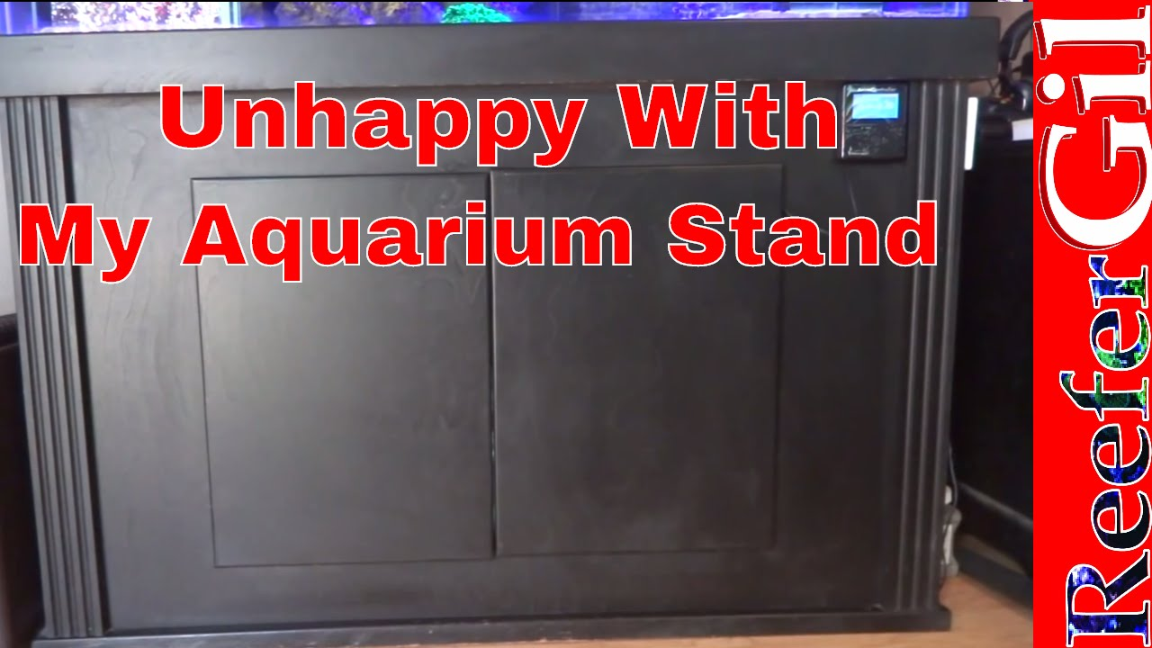 Aquarium Cabinet Modification Youtube