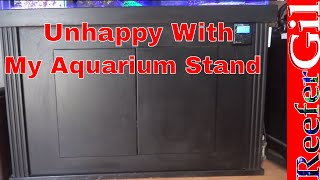 Aquarium Cabinet Modification