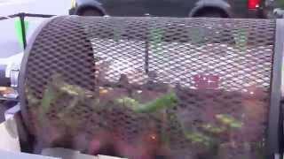 Hatch Chile Roasting @ Bristol Farms in Pasadena, California