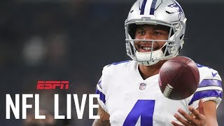 Dak Prescott on his way to becoming top-tier QB? | NFL Live | ESPN