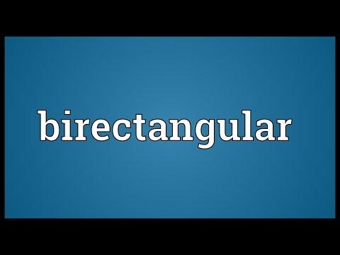 Header of birectangular