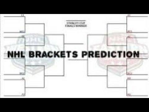 NHL 2017-18 Playoff Brackets Prediction