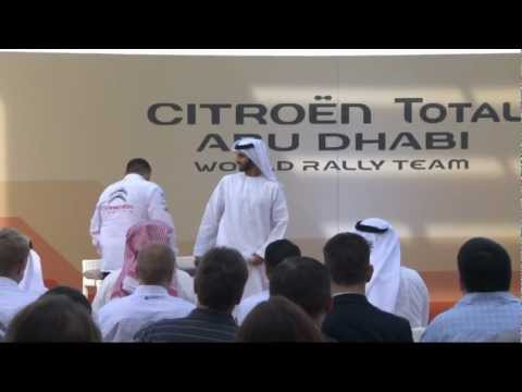 All-New Citroën Total Abu Dhabi World Rally Team Unveiled - HQ