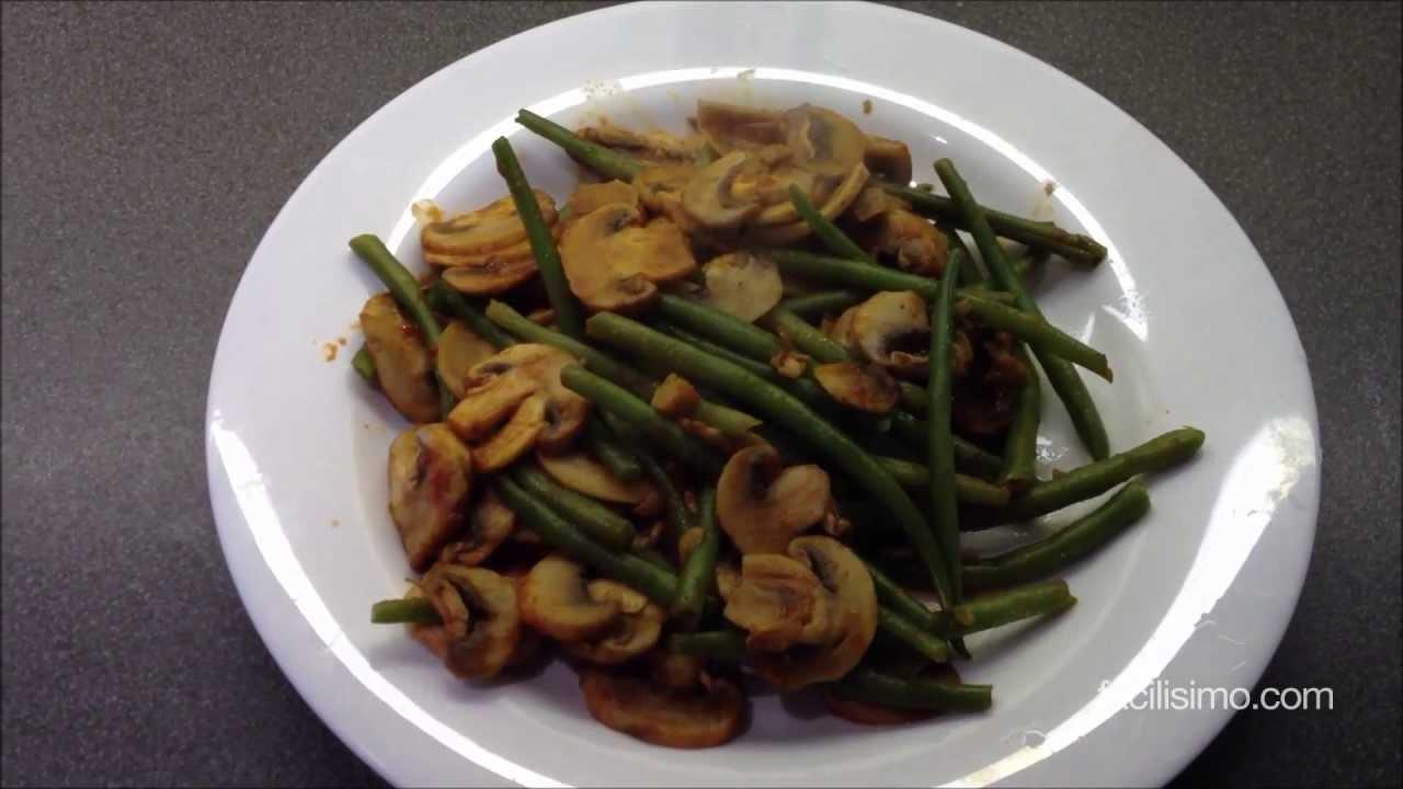Como Cocinar Habichuelas | Como Hacer Judias Verdes Al Ajillo Facilisimo Com Youtube