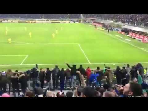 MILAN SKRINIAR GOAL VS CHIEVO - INTER MILANO - CHIEVO VERONA