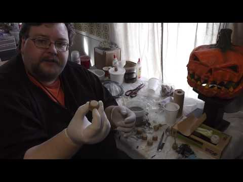 Halloween Pyrotechnics - How to make a thrown Green Flash Bomb