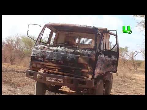 Minority visits owners of burnt tipper trucks in Northern region