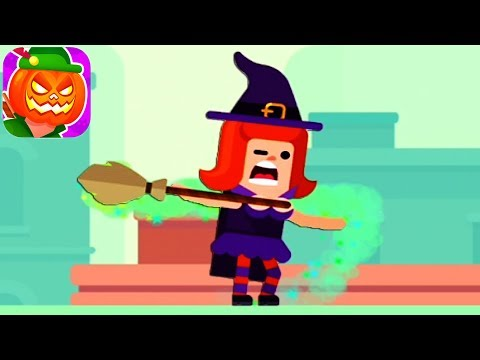 Bowmasters - Meet Stephanie the Witch - Halloween NEW Character - Gameplay Walkthrough