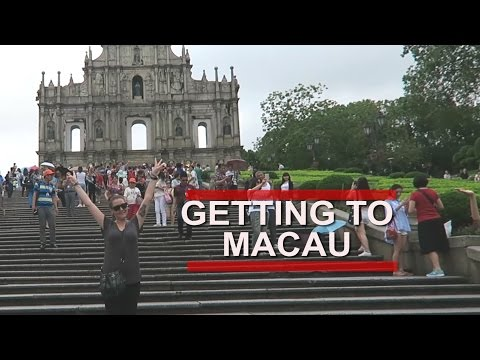 HONG KONG TO MACAU   EXPLORING   VLOG 2