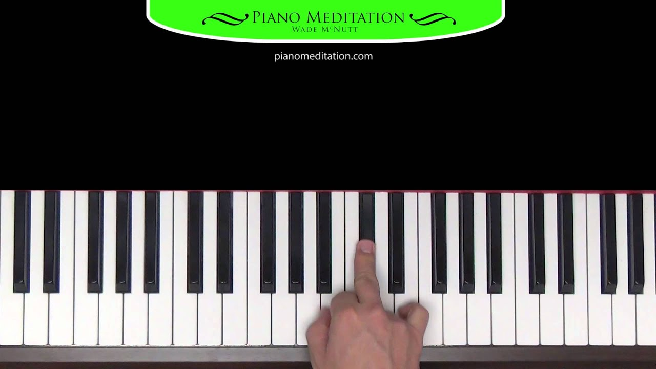 Open The Eyes Of My Heart How To Play On The Piano Youtube