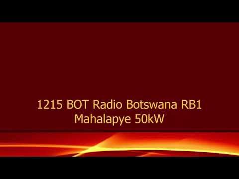 1215 BOT Radio Botswana RB1 Radio Botswana song