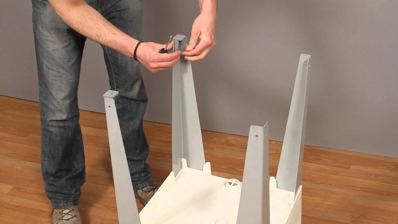 How to Install the UTILATUB LaundryUtility Tub  YouTube