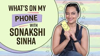Sonakshi Sinha: What's on my phone | Bollywood | Pinkvilla | ​Happy Phirr Bhag Jayegi