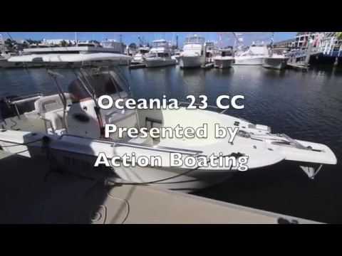 Oceania 23 Centre Console For Sale, Action Boating, Boat Sales, Gold Coast, Queensland, Australia