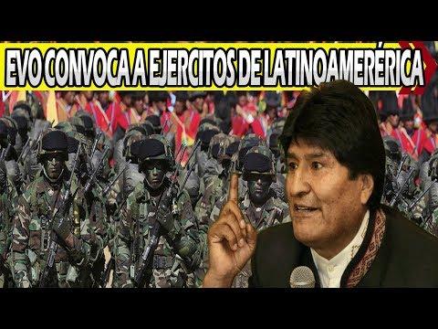 Evo Convoca a Fuerzas Armadas de Latinoamérica a Luchar Contra el Imperio
