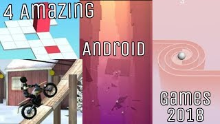4 Amazing 😎 Android Games 2018 😍