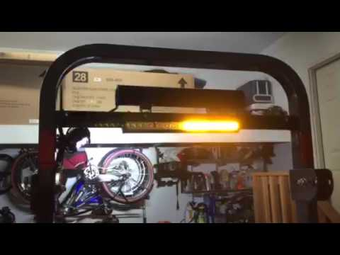 kubota wiring diagram dry type transformer tractor led light bar, work and hazards - youtube
