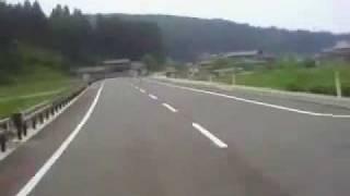石川 県道4号~県道55号をバイクで走る ②
