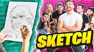 CLICK DESCRIBE EACH OTHERS FACES TO A SKETCH ARTIST *ANNOUNCEMENT*