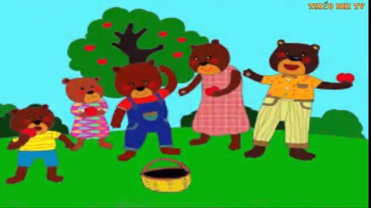Truyện gấu con chia quà – Truyen gau con chia qua – Thiếu nhi TV