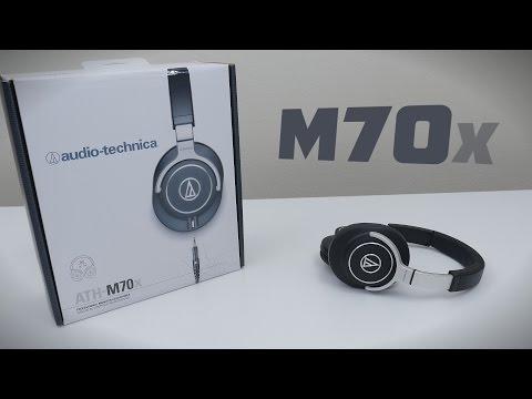 ATH-M70X - Review + Sound Test (Audio Technica)