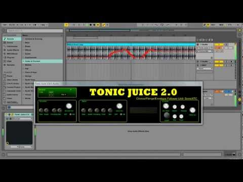 Download Free Chorus / flanger plug-in: Tonic Juice 2 0 by