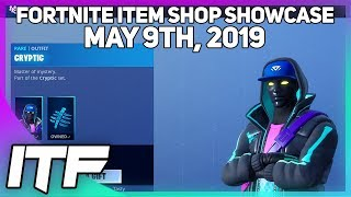 Fortnite Item Shop 'NEW' CRYPTIC SKIN ET ENIGMA WRAP! [9 mai 2019] (Fortnite Battle Royale)
