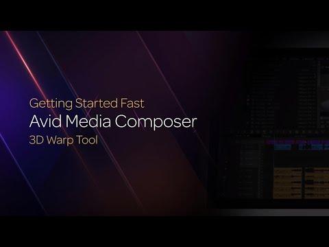 The Media Composer 3D Warp Tool
