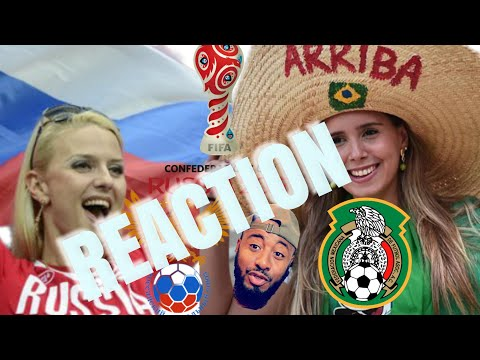 🇲🇽 MEXICO VS RUSSIA 🇷🇺 2-1 REACTION | FIFA CONFEDERATIONS CUP GROUP A