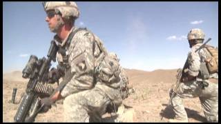 Gunshot to the Head - Army Pathfinders Swoop to Afghanistan/Pakistan Border and Help - HD