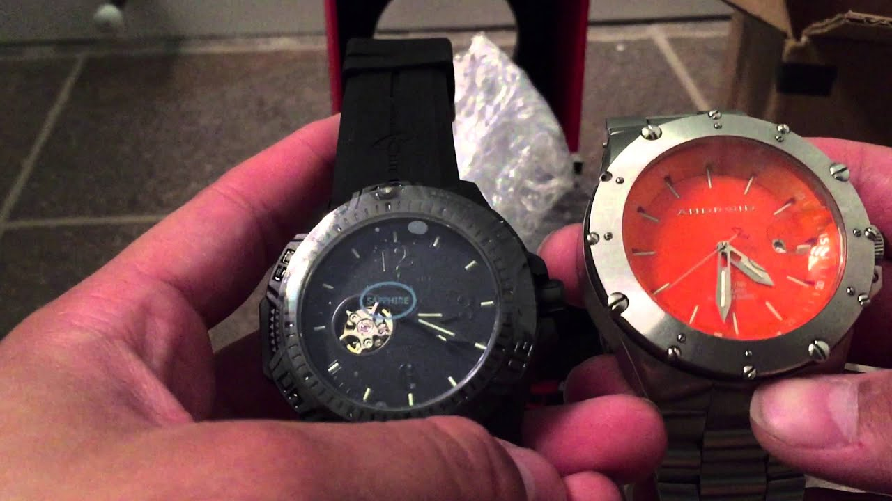cace0e77f342 Armourlite Caliber Series Blackout Watch Unboxing - YouTube